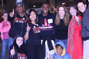 Break the Chain Flash Mob Dancers