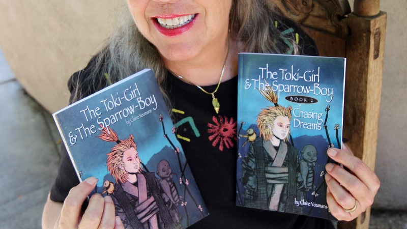 The Toki-Girl  & The Sparrow-Boy Chasing Dreams Book 2 Series of 3 by Claire Youmans