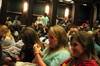 The George Lucas Building's Ray Stark Theatre was standing room only