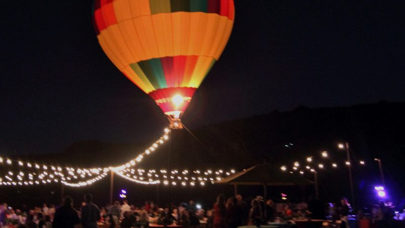 Santa Barbara's Doctors Without Walls Serves Up Street Medicine While Hot Air Balloons Glow in the Park