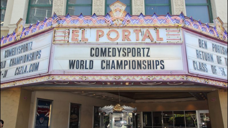 El Portal Theater Ups the Funny on the Turf at the 2018 Comedy Sportz Championship